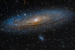 Our Neighbor - Andromeda Galaxy (Eden Bhatta) Tags: andromeda galaxy astrophotography m31 astronomy ngc224 starry stardust starscape m32 m110 andromedagalaxy starrysky spiralgalaxy messier31 equatorialmount eqmount canon70d canon100400mmisii skywatcherstaradventurermotorizedmount neighborgalaxy