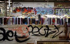 abandoned factory breukelen (wojofoto) Tags: holland graffiti nederland netherland cans breukelen wolfgangjosten spuitbussen wojofoto