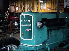 Vintage Farm Technology (spline_splinson) Tags: tractor man de deutschland rust traktor transportation antiquetractor oldtechnology oldtractor badenwrttemberg vintagefarmequipment ackerdiesel uhldingenmhlhofen
