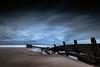 Breach (f22 Digital Imaging) Tags: longexposure blue sunset seascape beach landscape northumberland blyth seatonsluice northeastengland bluescape 10stop hoyaprond1000