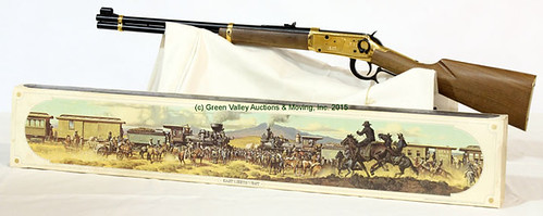 Winchester Model 94 Golden Spike Commemorative Rifle - $852.50 (Sold March 20, 2015)