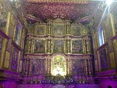 Parroquia Santo Domingo de Guzmn (carocampalans) Tags: luz colombia interior iglesia altar templo icono decoracin iluminacin religin tunja boyac iconografa