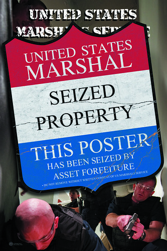 USMS Asset Forfeiture poster