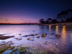 Lighting down (giuseppe.donghia) Tags: longexposure sunset see aqua cap antibes capantibes