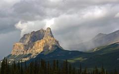 Castle Mountain (rob gosse) Tags: rockies alberta banff castlemountain