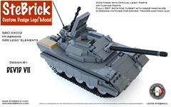 SBD 33002 M1 Abrams (stebrick) Tags: lego instructions moc legoarmy m1abrams legomodel legomoc legoinstructions legotank legomilitary legoinstruction tankinstructions devidvii stebrick stefanomapelli legoinstructionsmoc legoinstructionmoc customdesignlegomodel legom1abrams legotecnique