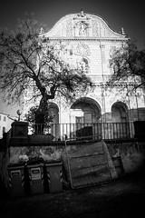 Sassari (ambrogio_mura) Tags: sardegna street bw white black streets contrast high nikon strada sardinia shadows centro bn sassari bianco strade nero sardinien storico 1870 contrasti d7100