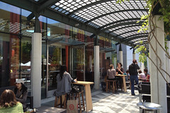 Samovar Tea Lounge - Open air seating (raluistro) Tags: sanfrancisco food tea drinks brunch yerbabuena samovartealounge