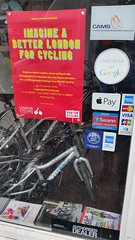 20160419_101824 (Dan K ) Tags: sign for cycling walthamstow forestroad lcc mamachari londoncyclingcampaign signforcycling