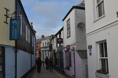 Narrow Street of Padstow (CoasterMadMatt) Tags: street uk greatbritain winter england streets shop port march town nikon cornwall village photos unitedkingdom britain photographs bakery gb shops chough padstow fishingvillage 2016 nikond3200 fishingport fishingtown southwestengland d3200 choughbakery coastermadmatt coastermadmattphotography winter2016 march2016 padstow2016