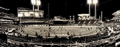 Great American Ball Park (Jamie Smed) Tags: iphoneedit handyphoto jamiesmed app snapseed iphone5s beautiful iphoneography mobileography people reds game geotagged geotag openingnight gabp greatamericanballpark ballpark field stadium mlb mobilephotography iphonephoto 2016 baseball landscape hamiltoncounty cincinnati sports sport photography blackwhite bw blackandwhite ohio midwest phoneography iphoneonly silhouette games downtown spring panorama pano city mobilography clermontcounty april dark queencity mobilephoto opening night silhoutte autostitch sportsphotography photographer shotoniphone
