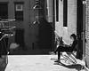 Enjoying the Warmth (Nora Kaszuba) Tags: streetphotography risd providencerhodeisland enjoyingthewarmth rhodeislandschoolofdesign norakaszuba