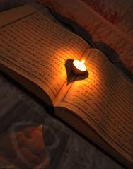 (gLySuNfLoWeR) Tags: night happy candle heart muslim islam happiness read mum sure allah quran iman kalp oku ikra kuran mutluluk ayet okumak mslman islamiyet