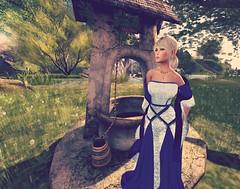 Princess Fallon (Isabelle cheren) Tags: wolf gypsy maitreya frisland catwa