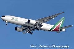 Alitalia Boeing 777-243(ER) EI-DBK (MSN007) Tags: airplane airport er aircraft air jet jfk 200 boeing airways airlines 777 airliner alitalia kjfk 777243er eidbk