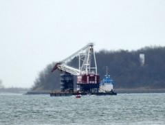 Neptune (jelpics) Tags: ocean sea boston port harbor boat ship massachusetts vessel cranes tug weeks neptune bostonma barge tugboats bostonharbor cranebarge weeksmarine weeks527