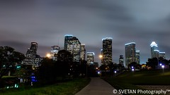SENSE OF TRANQUILITY (RUSSIANTEXAN) Tags: panorama night photography nikon long exposure downtown texas houston anvar khodzhaev svetan d800e