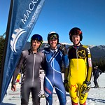 Whistler Cup Men's U16 SG (left to right) Ben Richards (New Zealand 2nd); Wilhelm Normannseth (Norway 1st); Jamie Casselman (Alberta 3rd) PHOTO CREDIT: Keven Dubinsky