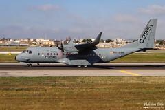 Airbus Military --- CASA C-295 --- EC-296 (Drinu C) Tags: plane casa aircraft aviation military sony dsc mla c295 ec296 lmml airbusmilitary hx100v adrianciliaphotography