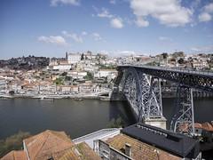 Ponte de D. Lus (Svenjanein) Tags: bridge river dom ponte porto douro lus archbridge bogenbrcke lusibridge