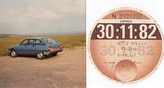 1981 Citroën GSA Special, my car 1981-1983 + tax-disc (andreboeni) Tags: classic car cars automobiles automobili autos voitures classique voiture oldtimer automobile retro auto french francais citroen gs gsa taxdisc citroën
