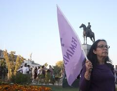 Feministas (Andy Valderrama) Tags: mujeres marcha feminismo plazaitalia feminista dadelamujer