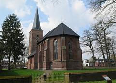 Zuidlaren koor prot.kerk (Arthur-A) Tags: church netherlands nederland kirche kerk eglise protestant zuidlaren