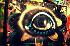 "INSPIRE - ""Organic Vision"" (www.InspireCollective.com) Tags: wood flowers blue original light shadow red orange white streetart black flower green eye floral colors painting paper design rainbow artwork eyes paint acrylic purple bright sold circles interior character paste tel aviv evolution canvas drip oil coloring designs mystical drips title dots aerosol inspire cartoons materials artworks reuse reused cartooning eaters itw inspirecollective inspireone"