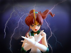 Supreme Thunder (La Reine Camomille) Tags: moon attack sailor jupiter figuarts