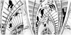 trittico incubo escher (erikamambretti1) Tags: milano bn escher concettuale trittico
