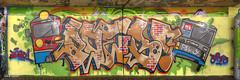grafitti panorama 4x (GdeB fotografeert) Tags: koogaandezaan kunstenaars flickrexplored gdebfotografeert onderdea8 grafittivrijplaats maart2016