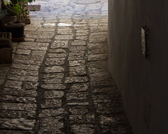 Passageways Over Time (marylea) Tags: old shadow stone israel telaviv shadows bricks historic historical passage lightanddark passageway yafo joppa oldjaffa 2015 may15 telavivyafo