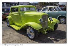 Green Hot Rod (Paul Simpson Photography) Tags: classic car sunshine classiccar hotrod carshow scunthorpe motorshow lovelyday fastcar greencar motorcar churchsquare northlincolnshire photosof imageof photoof imagesof sonya77 paulsimpsonphotography photosofhotrods