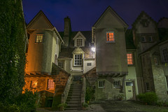 White Horse Close Twilight (Colin Myers Photography) Tags: street old blue horse white colin photography scotland town high twilight edinburgh close royal scottish hour auld oldtown atmospheric mile myers canongate reekie edinburghtwilight colinmyersphotography