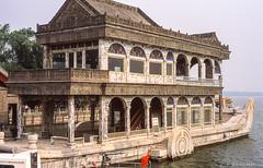 Marmorschiff # Kunming-See # China_2006_2560 # Leica R9 Fuji Provia100 - 2006 (irisisopen f/8light) Tags: china leica color film fuji beijing slide farbe provia peking 100f diafilm r9 irisisopen