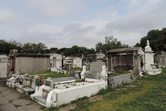 New Orleans - Plastic Roses (Drriss & Marrionn) Tags: usa cemetery grave graveyard concrete outdoor neworleans headstone tomb graves funeral mausoleum granite sarcophagus burial marble tombs lafayettecemetery deceased gravefield vaults crypts neworleansla