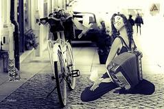 Happy day   #photography #city #bicycle #edit #art #collage #women #birds #cat #music #dream #fantastic #artwork #freeart #effect #blackandwhite #photodesign #poster (mrbrooks2016) Tags: city blackandwhite music art birds bicycle collage cat poster photography fantastic artwork women dream effect edit photodesign freeart