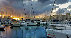 Marseille Port (William MacGregor) Tags: city sea france water architecture port canon french boats boat photo marseille europe european sailing waterfront image yacht outdoor ngc transport 5d dslr vieuxport damncool 50d yourbestoftoday macgregorwilliam