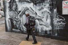 Olivier Roubieu aka Mr. Shiz (SReed99342) Tags: uk england woman streetart london mr olivier shiz roubieu