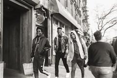 AA003 2 (heavyasmountains) Tags: nyc newyorkcity blackandwhite slr film 35mm photography nikon candid streetphotography noflash 24mm fm3a filmphotography streetstyle