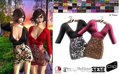 Dress Nina CLIP (alicemaryy) Tags: life fashion shop store quality clip clothes sl second hud