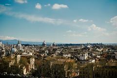 Roma (Leandro Fridman) Tags: panorama roma edificios nikon cielo d60 techos
