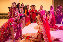 wedding (Xuan Che) Tags: travel winter wedding girls red portrait india color festival asia december 40mm jaipur rajasthan 2015 canon6d 2840mm