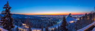 Oslo Winter Panorama