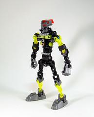 Lesovikk Skeleton - Front (0nuku) Tags: green underwater lego air submarine master vehicle g2 glider bionicle toa 2015 faxon uniter ccbs mahrinui lesovikk karzahni ussanui