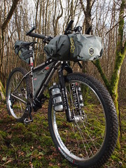 Travers Rusty (South Downs MTB Skills) Tags: exposure rusty 29 titanium revo travers gorillacage bikepacking alpkit tourdivide apidura freeparable