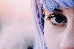 antarctica. (Nicole Favero) Tags: camera blue portrait people cute love ice girl wow hair person photo big crazy amazing eyes nikon mine photoshoot violet best giallo forever lovely cuteness bestfriend dyes bestie valentina ghiaccio tumblr nikond5000