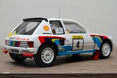 1984 Peugeot 205 T16 1000 Lakes Otto Mobile  1/18 (JARDAM) Tags: 1984 peugeot 205 118 t16 1000lakes ottomobile