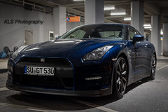 Nissan GT-R (Kls_Fotografie) Tags: blue beautiful car 50mm nikon nissan awesome best legendary 18 gtr klsphotography