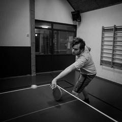 Pew! (Mattias Lindgren) Tags: blackandwhite bw square noir pingpong 365 pingis 2016 p16 24mmf28d 24mmf28 project16 nikond600